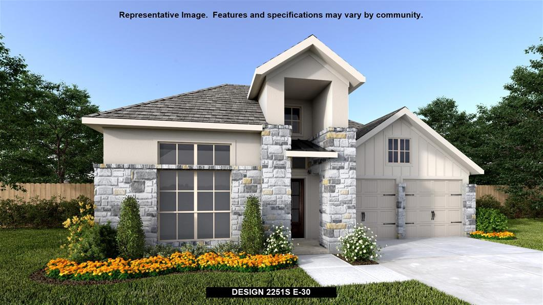 New Home Design, 2,251 sq. ft., 3 bed / 2.5 bath, 3-car garage