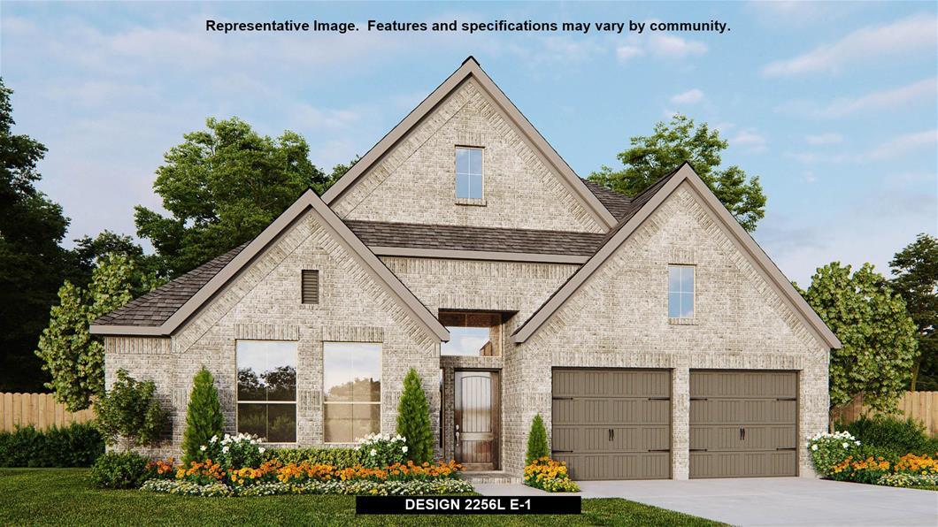New Home Design, 2,256 sq. ft., 4 bed / 2.0 bath, 2-car garage