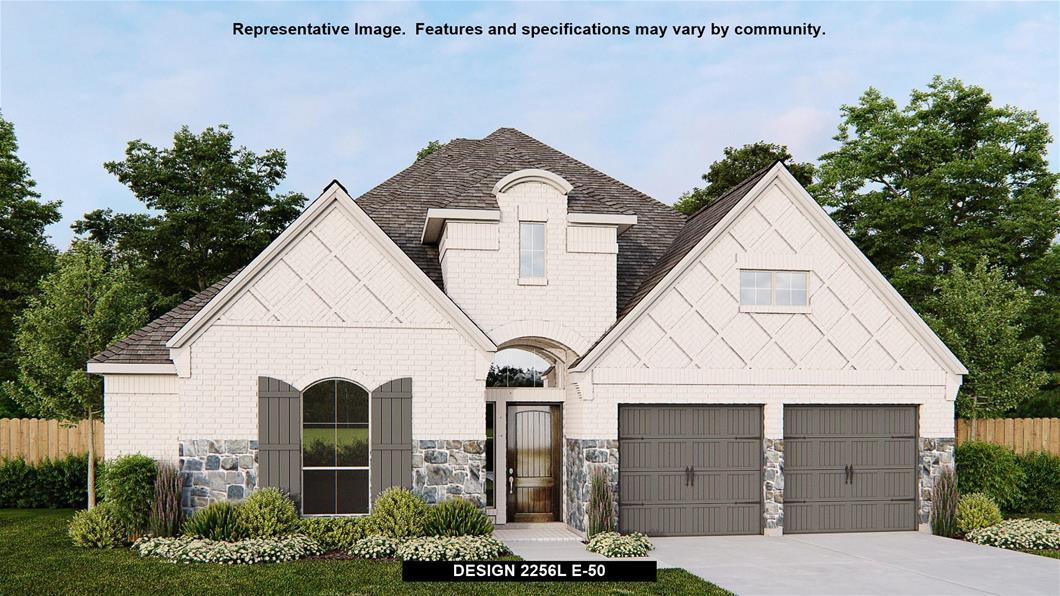 New Home Design, 2,256 sq. ft., 3 bed / 2.0 bath, 2-car garage