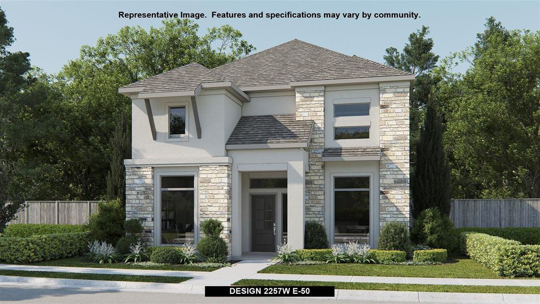 New Home Design, 2,257 sq. ft., 4 bed / 2.5 bath, 2-car garage