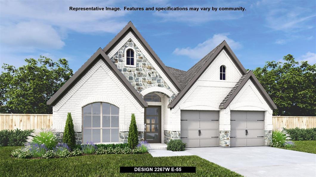 New Home Design, 2,267 sq. ft., 4 bed / 2.0 bath, 2-car garage