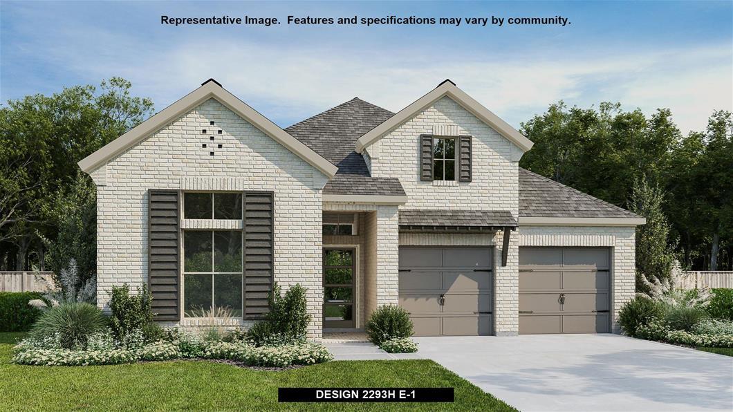 New Home Design, 2,293 sq. ft., 4 bed / 3.0 bath, 3-car garage