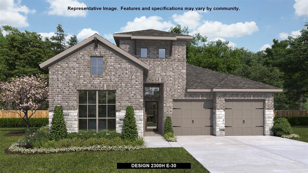 New Home Design, 2,300 sq. ft., 4 bed / 3.0 bath, 2-car garage