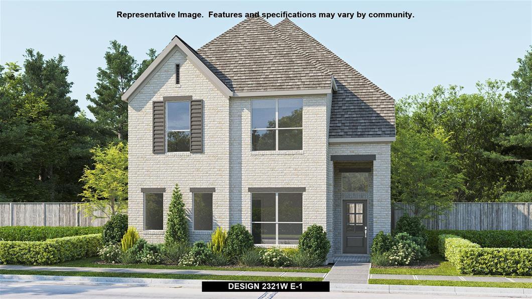 New Home Design, 2,321 sq. ft., 3 bed / 2.5 bath, 2-car garage