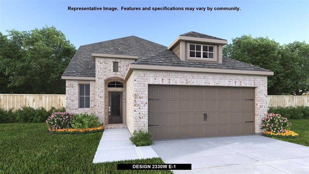 New Home Design, 2,330 sq. ft., 3 bed / 2.5 bath, 2-car garage