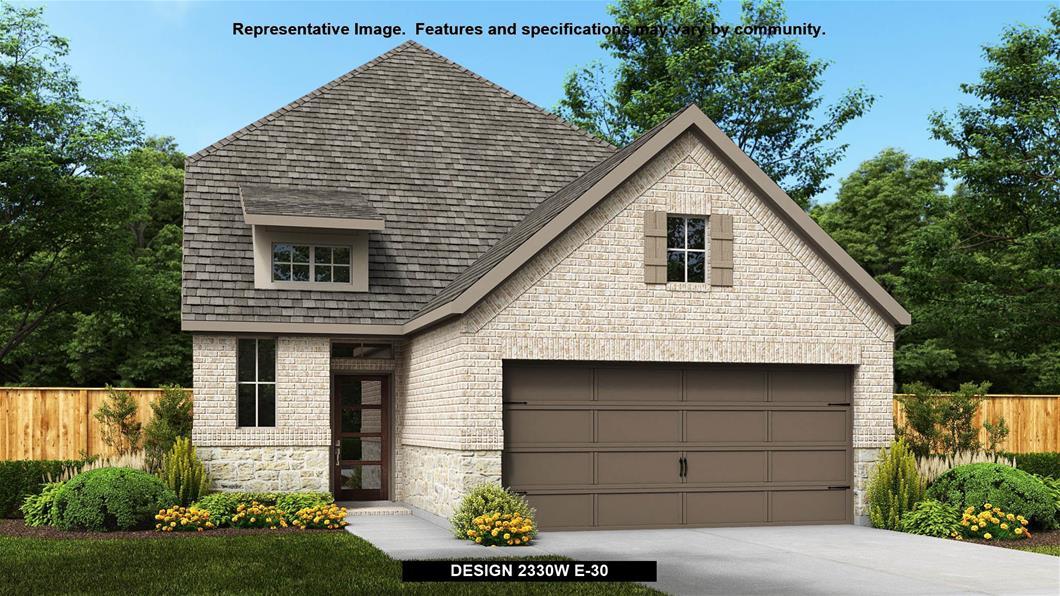 New Home Design, 2,330 sq. ft., 4 bed / 3.5 bath, 2-car garage
