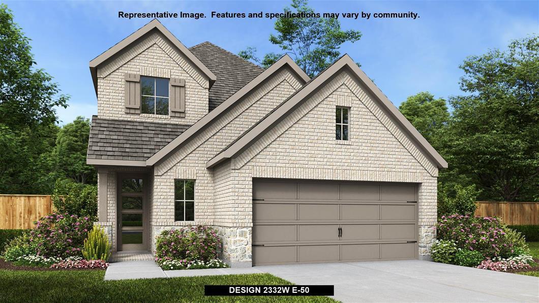 New Home Design, 2,332 sq. ft., 3 bed / 2.5 bath, 2-car garage