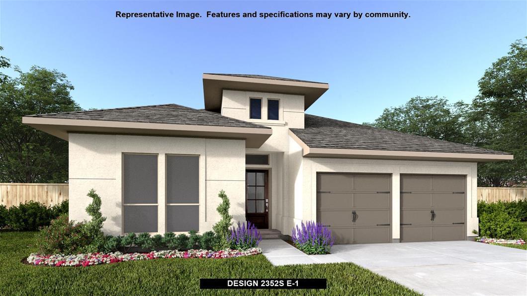 New Home Design, 2,352 sq. ft., 4 bed / 3.0 bath, 2-car garage