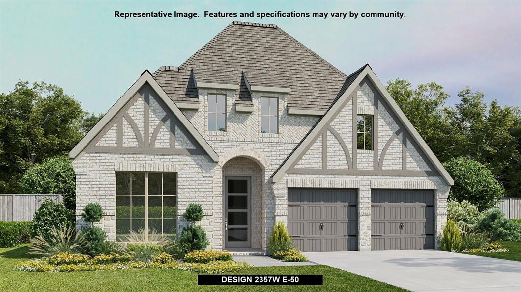 New Home Design, 2,357 sq. ft., 4 bed / 3.0 bath, 2-car garage