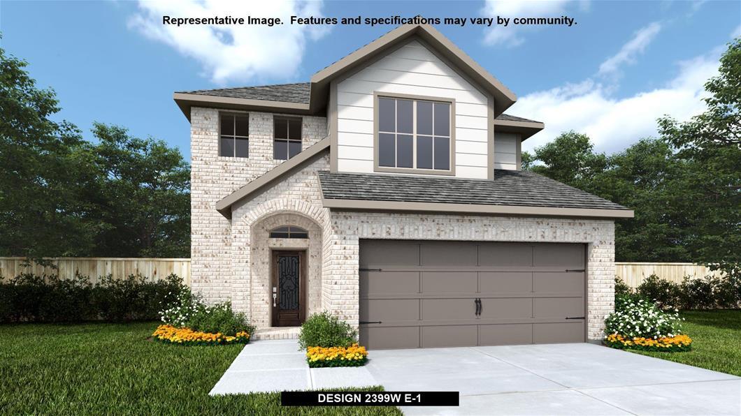 New Home Design, 2,399 sq. ft., 3 bed / 2.5 bath, 2-car garage