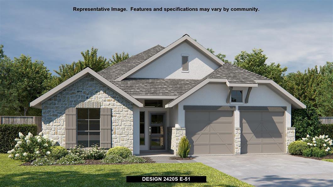 New Home Design, 2,420 sq. ft., 4 bed / 3.0 bath, 3-car garage