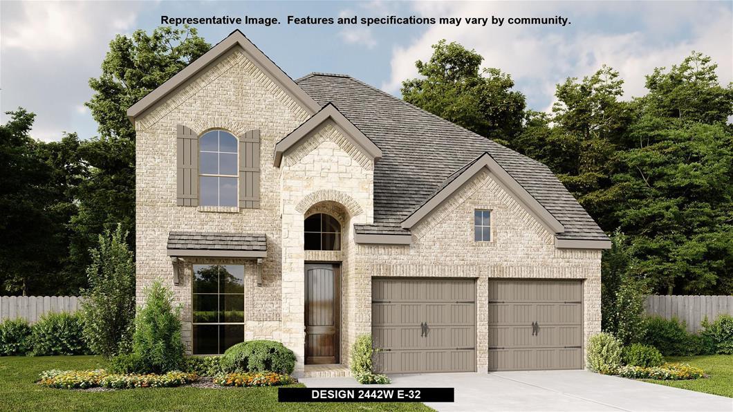 New Home Design, 2,442 sq. ft., 4 bed / 2.5 bath, 2-car garage