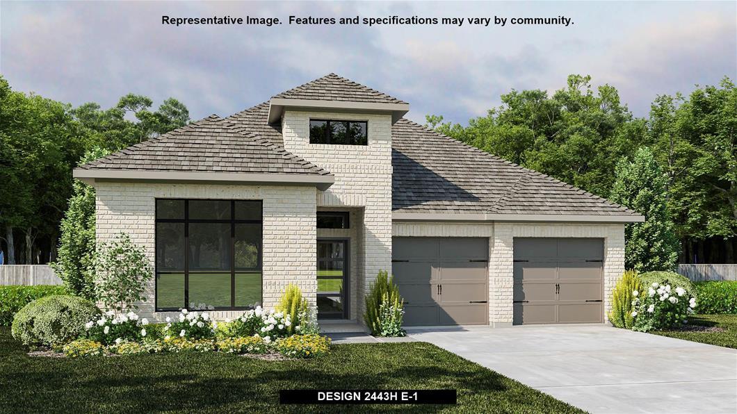 New Home Design, 2,443 sq. ft., 4 bed / 3.0 bath, 2-car garage