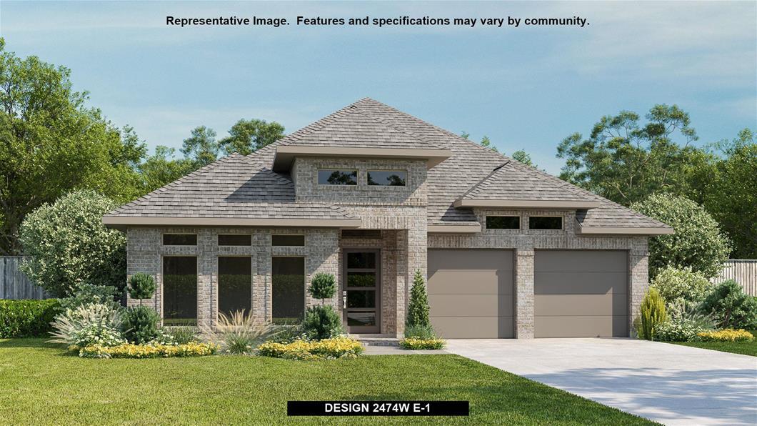 New Home Design, 2,474 sq. ft., 4 bed / 3.0 bath, 3-car garage