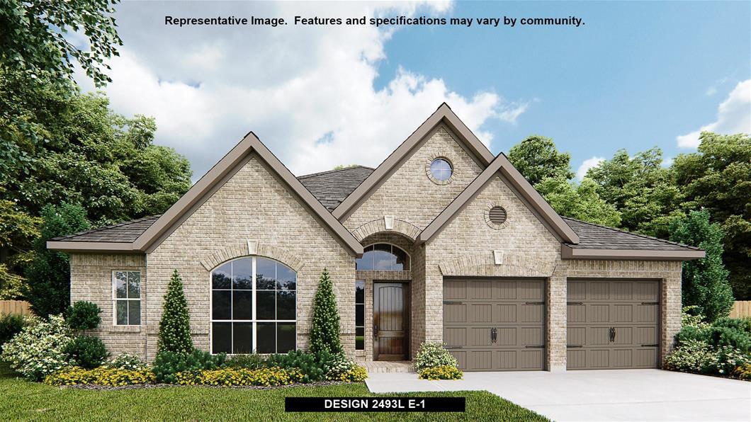 New Home Design, 2,493 sq. ft., 4 bed / 3.0 bath, 3-car garage