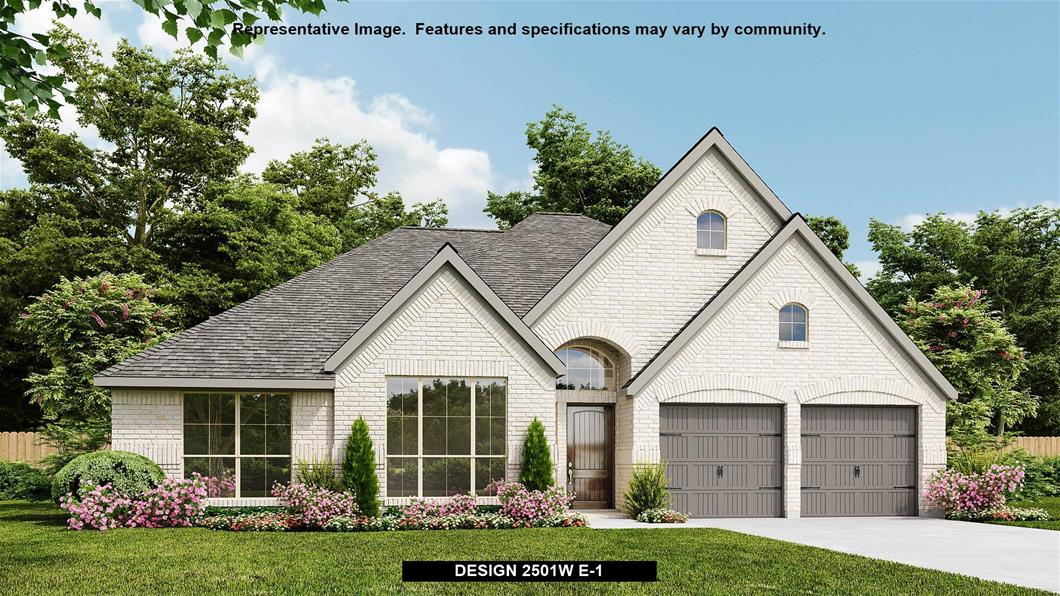 New Home Design, 2,501 sq. ft., 4 bed / 3.0 bath, 2-car garage