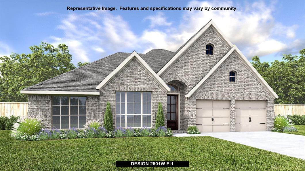 New Home Design, 2,501 sq. ft., 4 bed / 3.0 bath, 2-car garage