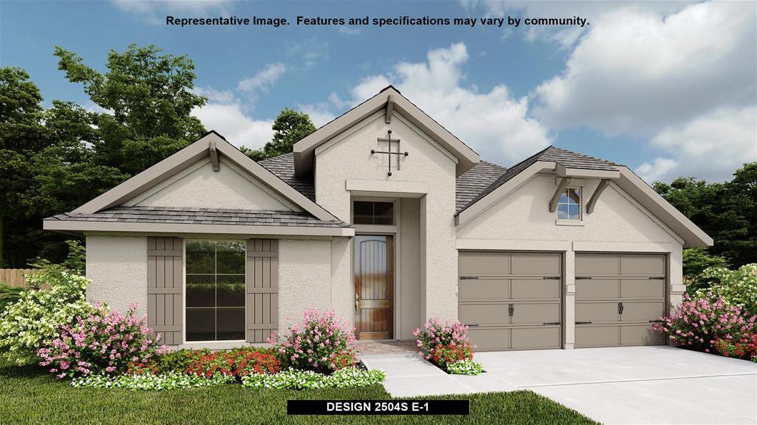 New Home Design, 2,504 sq. ft., 4 bed / 3.0 bath, 2-car garage
