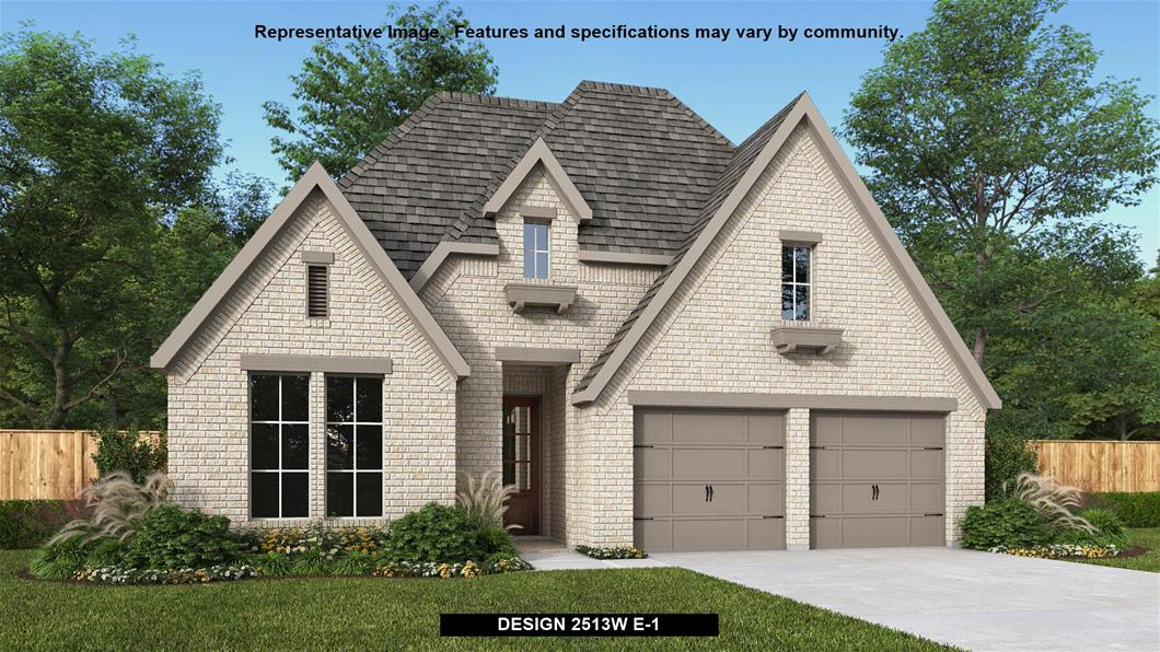 New Home Design, 2,513 sq. ft., 4 bed / 3.0 bath, 2-car garage