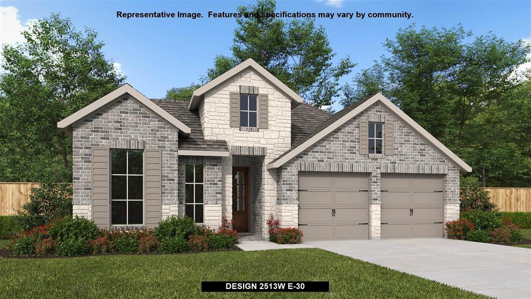 New Home Design, 2,513 sq. ft., 4 bed / 3.0 bath, 2-car garage