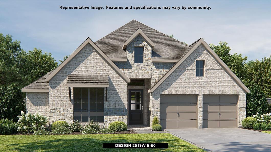 New Home Design, 2,519 sq. ft., 4 bed / 3.0 bath, 2-car garage