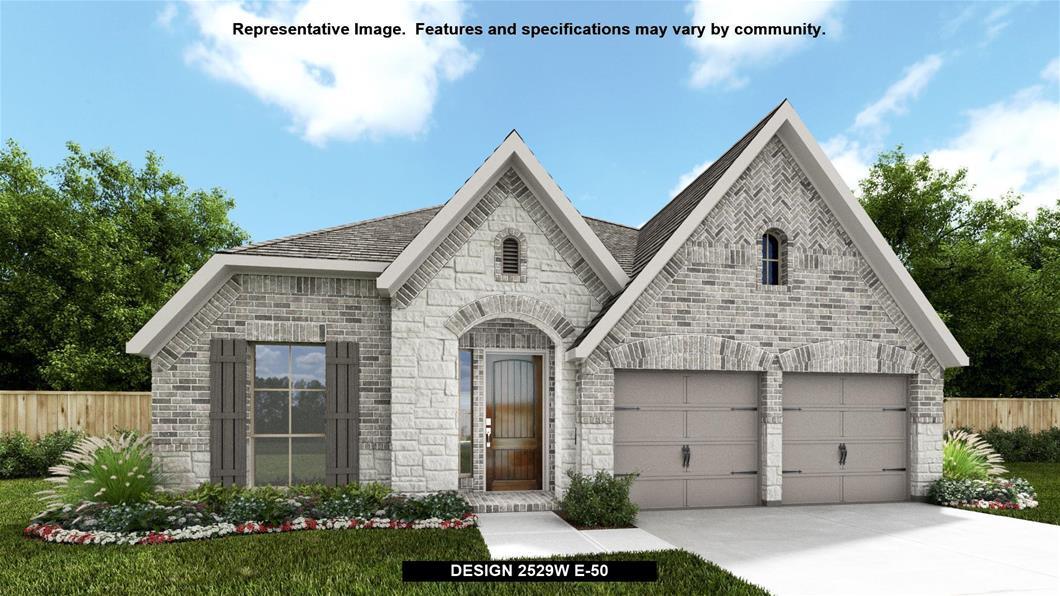 New Home Design, 2,529 sq. ft., 4 bed / 3.0 bath, 2-car garage