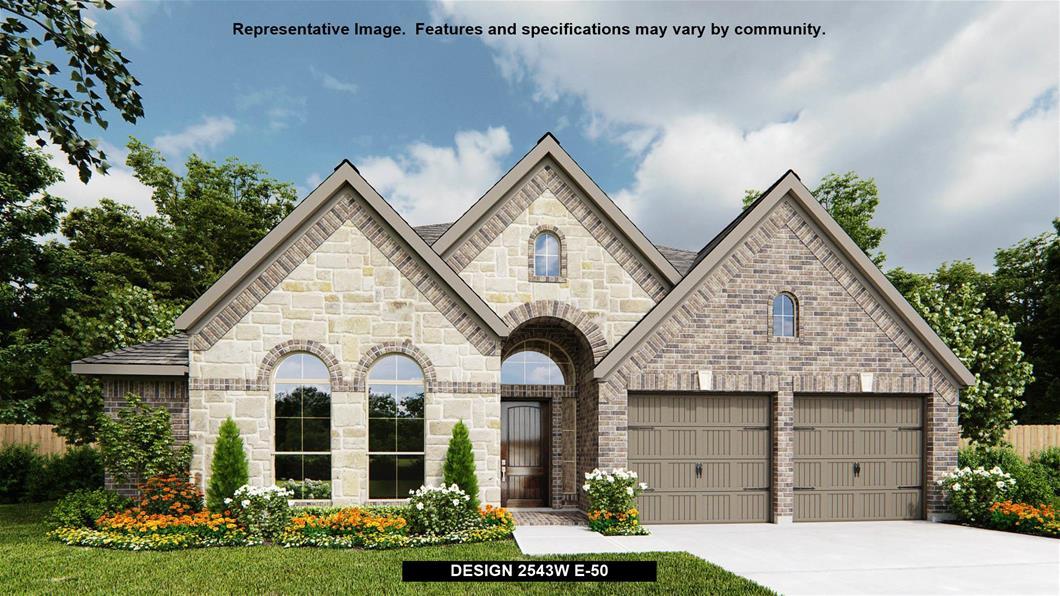 New Home Design, 2,543 sq. ft., 4 bed / 3.0 bath, 2-car garage