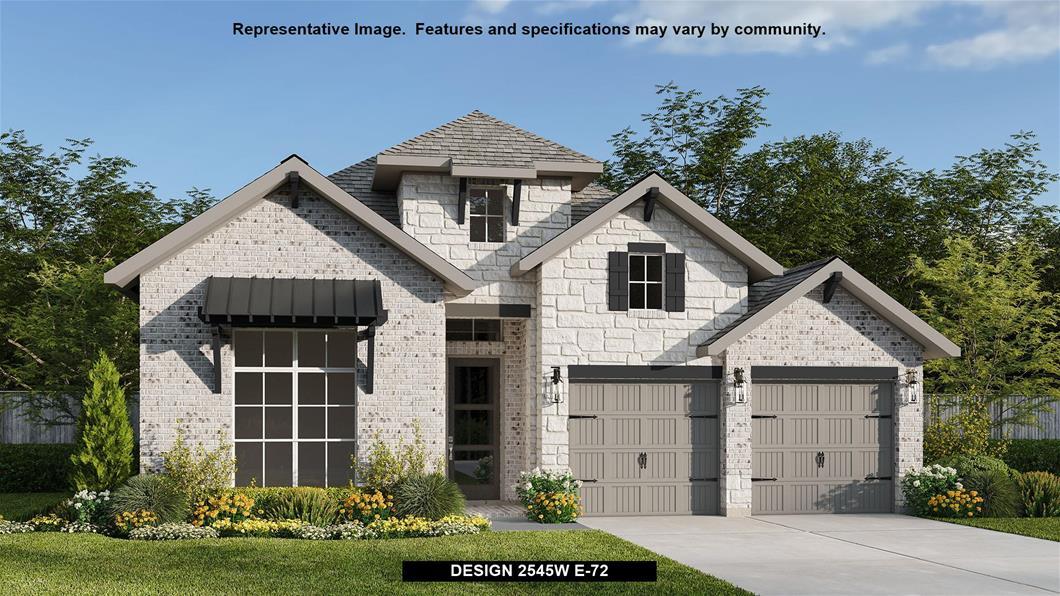 New Home Design, 2,545 sq. ft., 4 bed / 3.0 bath, 2-car garage