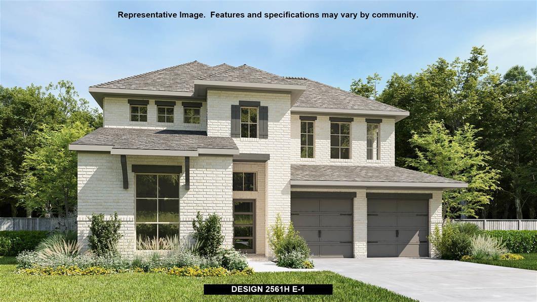 New Home Design, 2,561 sq. ft., 4 bed / 3.0 bath, 2-car garage