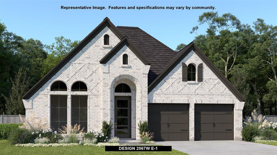 New Home Design, 2,567 sq. ft., 4 bed / 3.0 bath, 2-car garage