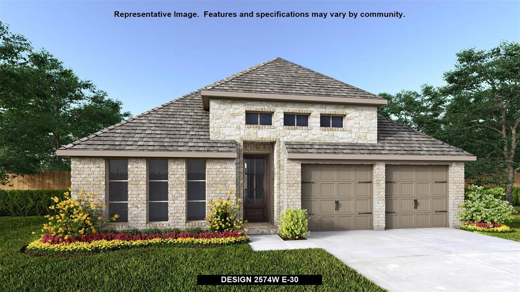 New Home Design, 2,574 sq. ft., 4 bed / 3.0 bath, 2-car garage