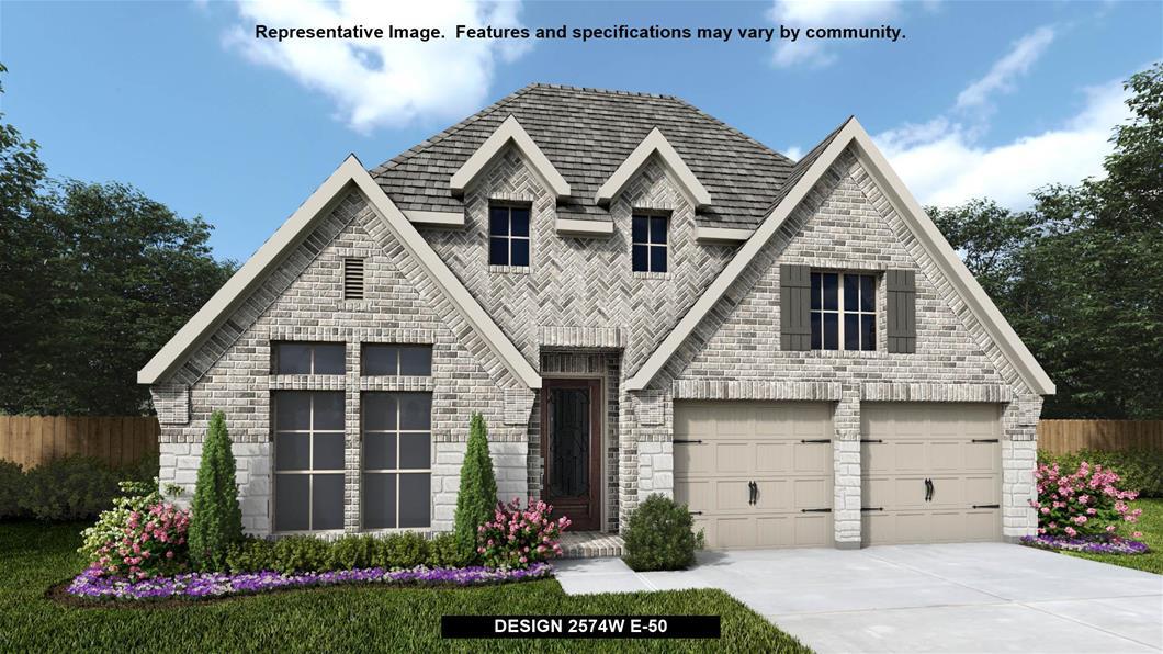 New Home Design, 2,574 sq. ft., 4 bed / 3.5 bath, 2-car garage