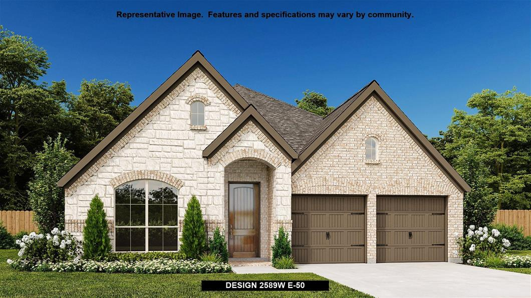 New Home Design, 2,589 sq. ft., 4 bed / 3.5 bath, 2-car garage