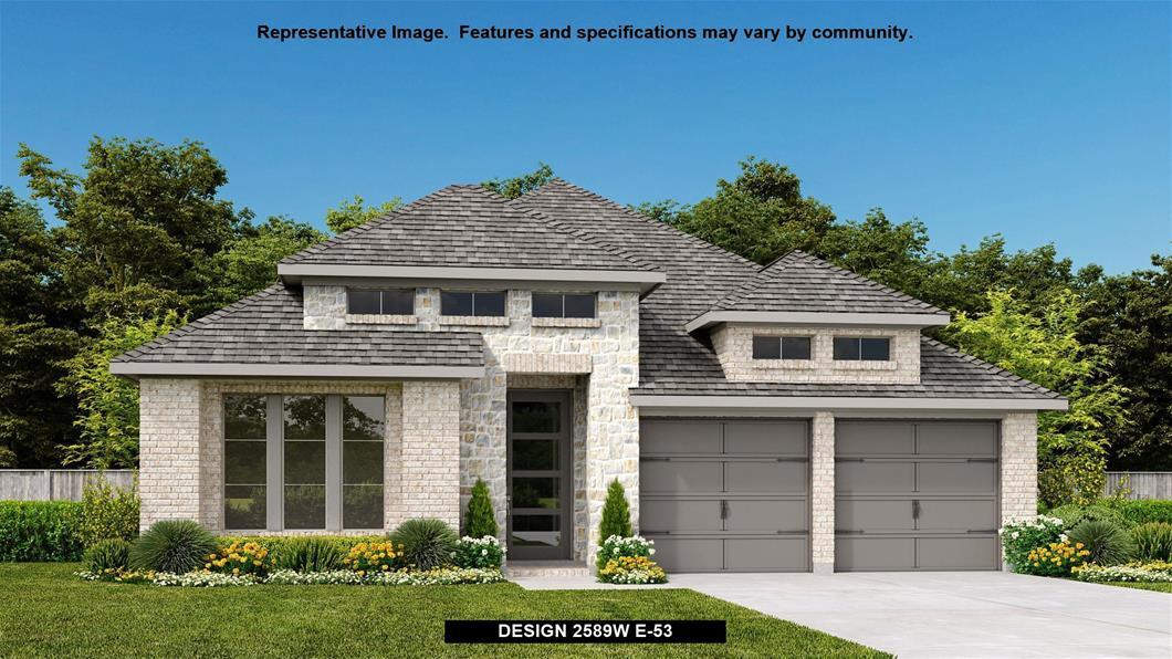 New Home Design, 2,589 sq. ft., 4 bed / 3.0 bath, 2-car garage