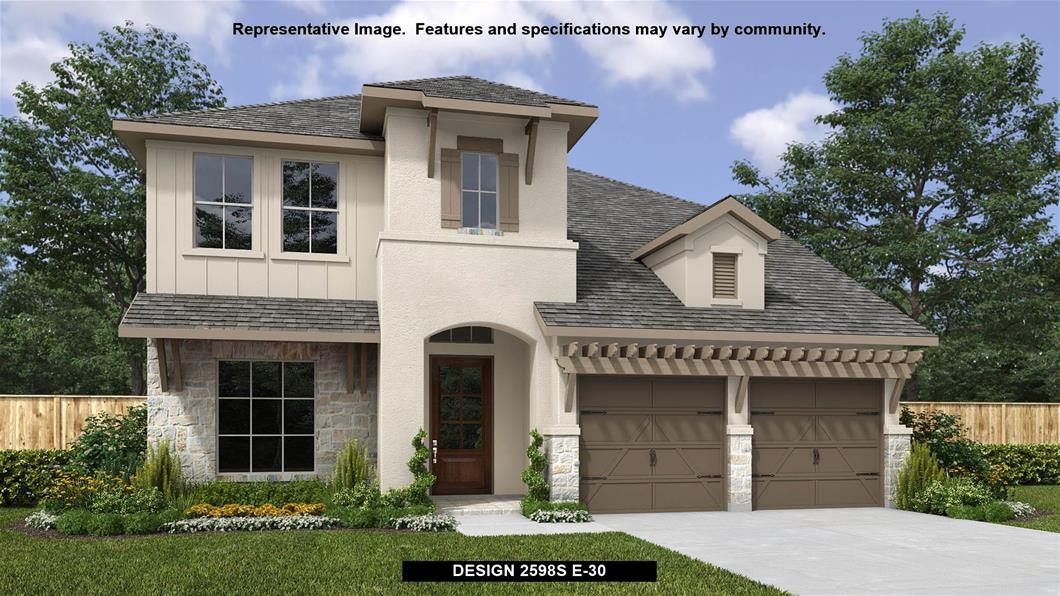 New Home Design, 2,598 sq. ft., 4 bed / 2.5 bath, 2-car garage