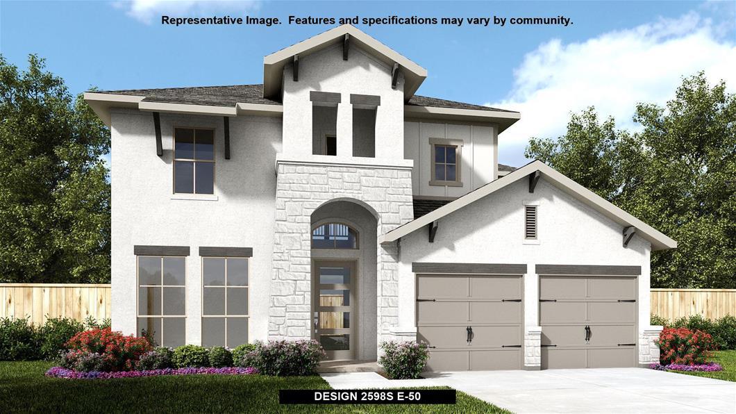 New Home Design, 2,598 sq. ft., 4 bed / 3.5 bath, 2-car garage
