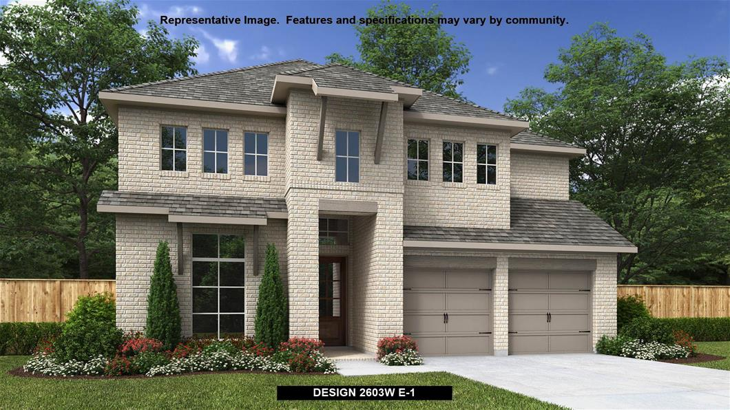 New Home Design, 2,603 sq. ft., 4 bed / 3.5 bath, 2-car garage