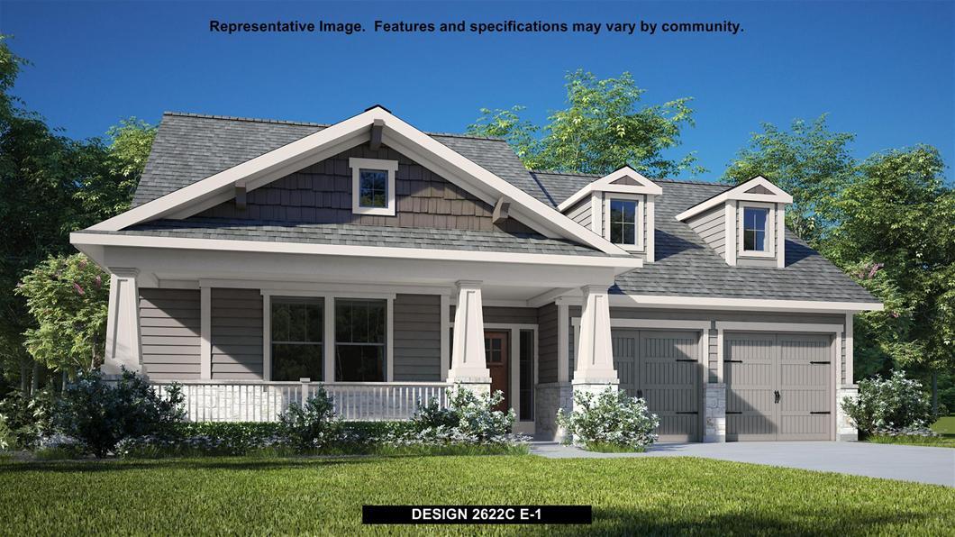 New Home Design, 2,622 sq. ft., 4 bed / 3.0 bath, 2-car garage