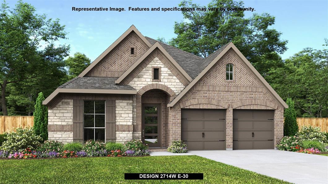 New Home Design, 2,714 sq. ft., 4 bed / 3.0 bath, 2-car garage