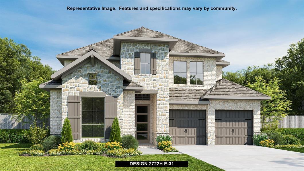 New Home Design, 3,008 sq. ft., 5 bed / 4.5 bath, 2-car garage