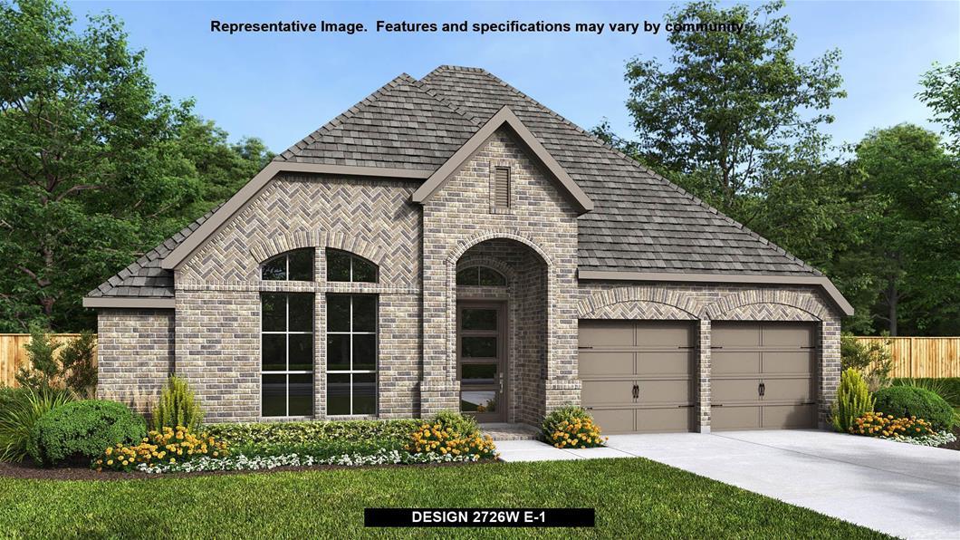 New Home Design, 2,726 sq. ft., 4 bed / 3.0 bath, 2-car garage