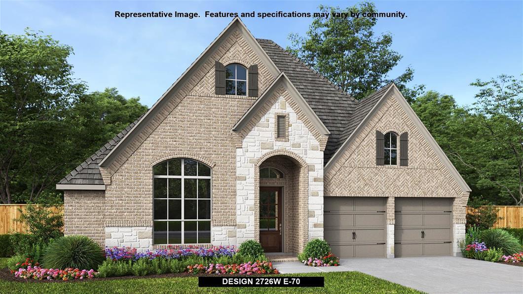 New Home Design, 2,726 sq. ft., 4 bed / 3.5 bath, 2-car garage