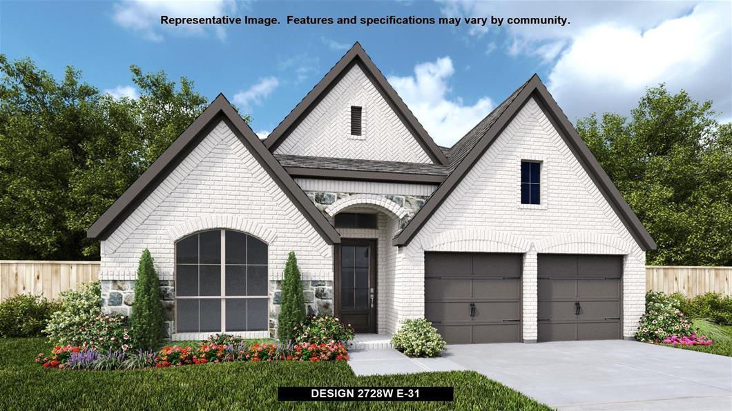 New Home Design, 2,728 sq. ft., 4 bed / 3.0 bath, 2-car garage