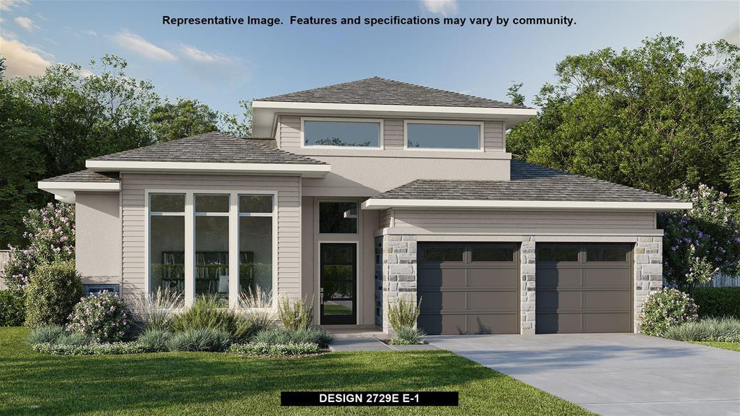 New Home Design, 2,729 sq. ft., 4 bed / 3.0 bath, 2-car garage
