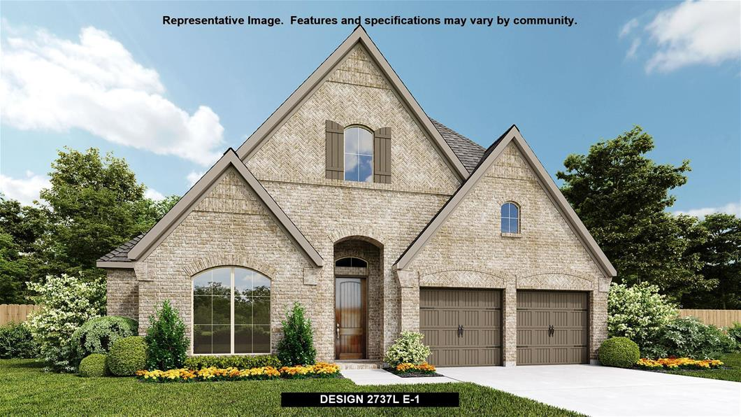 New Home Design, 2,737 sq. ft., 4 bed / 3.0 bath, 2-car garage