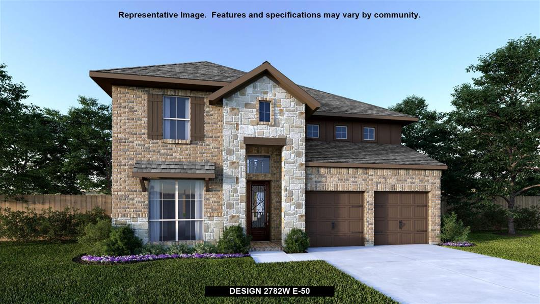 New Home Design, 2,782 sq. ft., 4 bed / 3.5 bath, 2-car garage