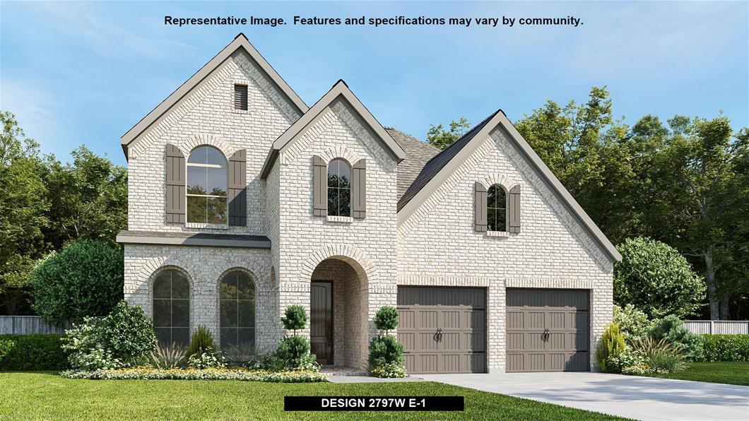 New Home Design, 2,797 sq. ft., 4 bed / 3.0 bath, 2-car garage