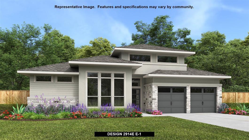 New Home Design, 2,914 sq. ft., 4 bed / 3.0 bath, 2-car garage