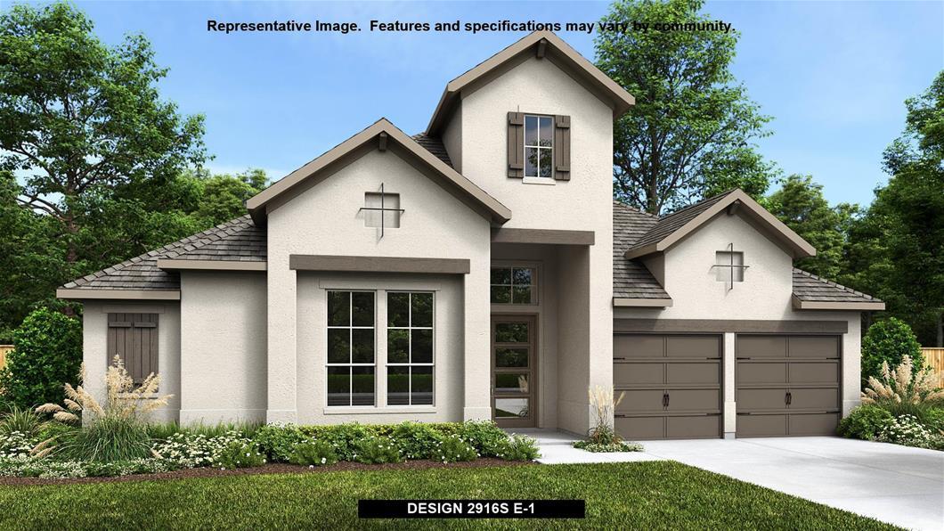 New Home Design, 2,916 sq. ft., 4 bed / 3.0 bath, 3-car garage