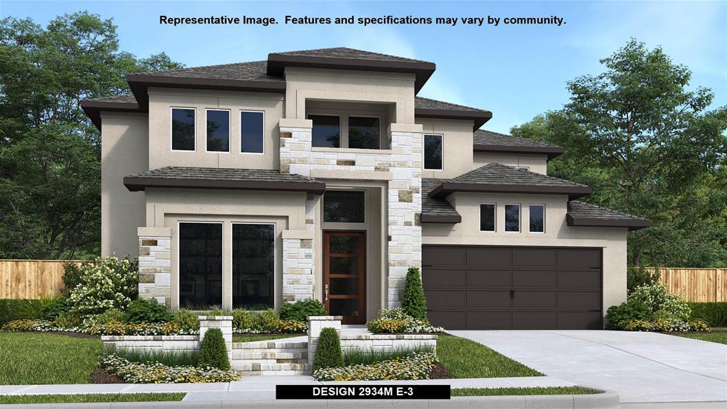 New Home Design, 2,934 sq. ft., 4 bed / 3.5 bath, 2-car garage